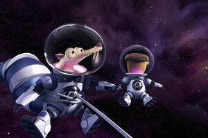 Scrat Ice Age Collision Course Wallpaper
