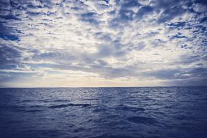 Sea Horizon 5k Wallpaper