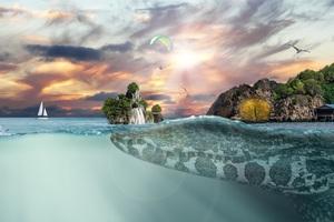 Sea Island Fantasy