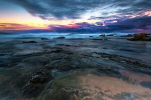 Sea Landscape Long Exposure 4k