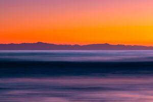 Sea Long Exposure Sunset 5k Wallpaper
