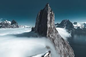 Sea Of Clouds Mountains 4k 5k Wallpaper