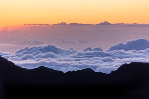 Sea Of Clouds Mountains 5k Wallpaper