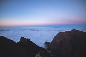 Sea Of Clouds Top View 5k Wallpaper