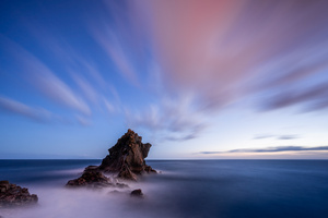 Sea Portugal Sky Madeira Crag Wallpaper