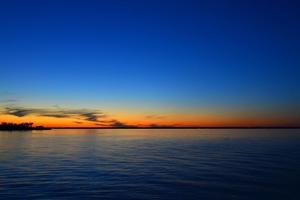 Sea Skyline Sunset