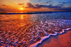 Sea Waves OnBeach