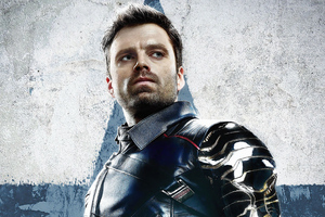 Sebastian Stan As Bucky Barnes In The Falcon And The Winter Soldier 4k