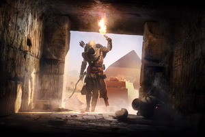 Secrets Of The First Pyramids Assassins Creed Origins Wallpaper