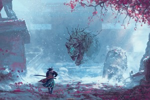 Sekiro Shadows Die Twice 4k Game Art