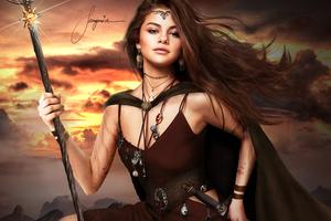 Selena Gomez Warrior