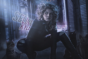 Selina Kyle As Catwoman In Gotham Fanart 4k Wallpaper