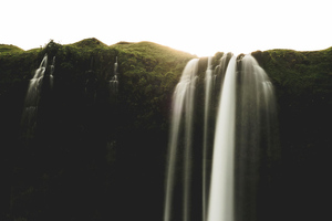 Seljalandsfoss Iceland Waterfall 4k