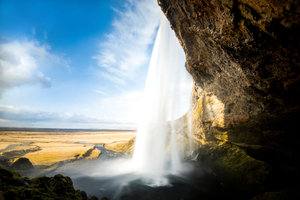 Seljalandsfoss Iceland Waterfall 5k Wallpaper
