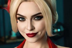 Senorita Harley Quinn Cosplay 4k Wallpaper