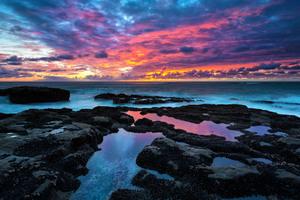 Serene Sunset Wallpaper