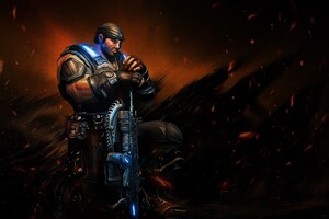 Sergeant Gears Of War Wallpaper