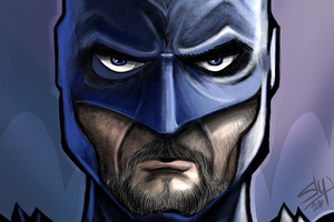 Serious Batman 4k