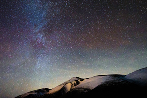 Shadow Milky Way 4k Wallpaper