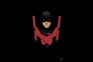 Shadowland Daredevil Artwork