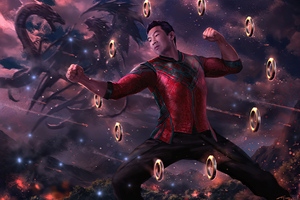 Shang Chi And The Legend Of The Ten Rings Fanart 4k Wallpaper
