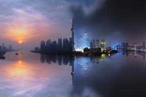Shangai Day Night