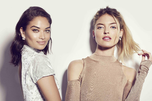 Shanina Shaik And Martha Hunt