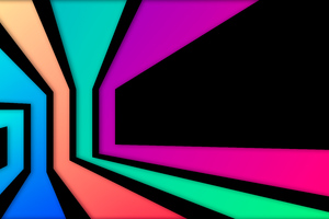 Shape Of Rectangle Abstract 8k Wallpaper