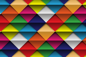 Shapes Triangle Abstract Colorful