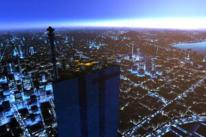 Shard Roof Mirrors Edge Game 8k Wallpaper