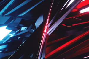 Sharp Shapes 3d Abstract Art 4k Wallpaper
