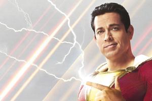 Shazam Movie 4k Poster