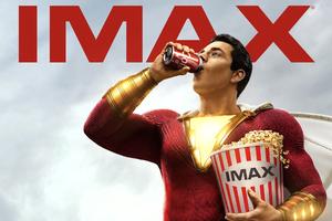 Shazam Movie Imax Poster