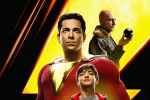 Shazam Movie International Poster 5k Wallpaper