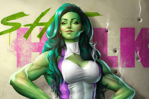 She Hulk 4k Wallpaper