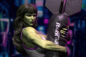 She Hulk 4k Artwork