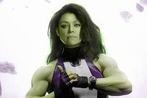 She Hulk Tatiana Maslany 4k Wallpaper