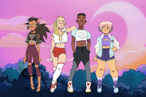 She Ra And The Princesses Of Power 5k Wallpaper