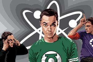 Sheldon Cooper 8k Wallpaper