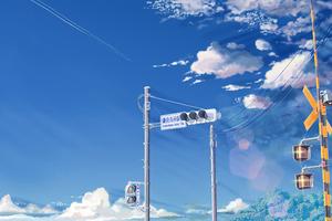 Shinkai Makoto Anime 4k Wallpaper