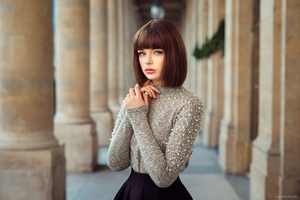 Short Hair Girl 4k