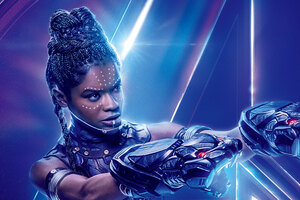 Shuri In Avengers Infinity War 8k Poster