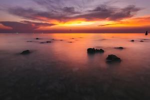 Silent Ocean Sunset 4k Wallpaper