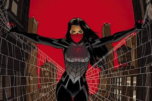 Silk Fictional Superhero Wallpaper