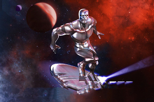 Silver Surfer Marvel Contest Of Champions 4k Wallpaper