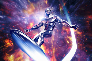 Silver Surfer Marvel Contest Of Champions Wallpaper