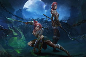 Sister Warriors Wallpaper