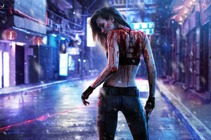 Skriver In Cyberpunk 2077