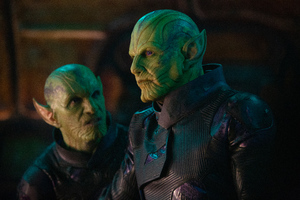 Skrulls In Captain Marvel Movie 2019 5k