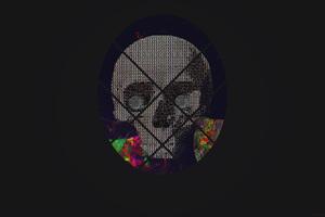 Skull Abstract Art 4k